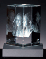 crystal memories 3d bild